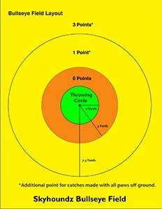 Bullseye Diagram Yards