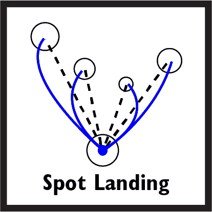 Spot Landing Icon