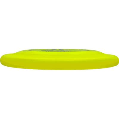 Yellow Competition Standard Pup Disc (Side View)