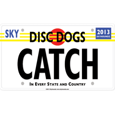 Disc Dogs Catch (Bumper Sticker)