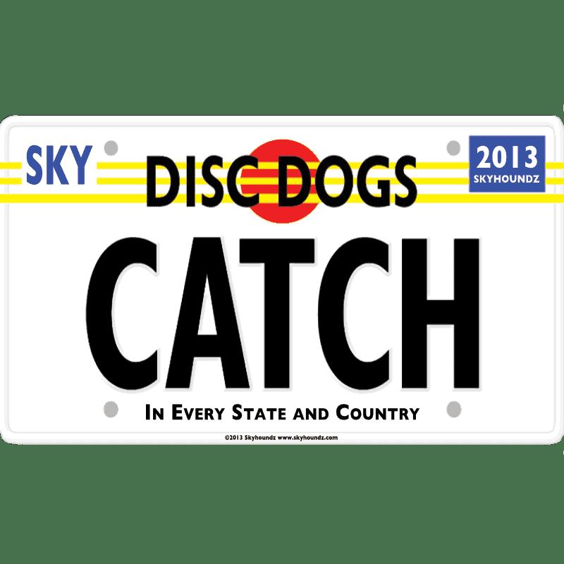 Disc Dogs Catch (Bumper Sticker)