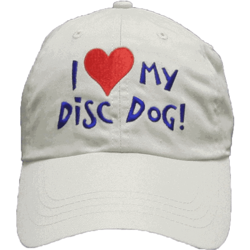 I love my disc dog! Cap