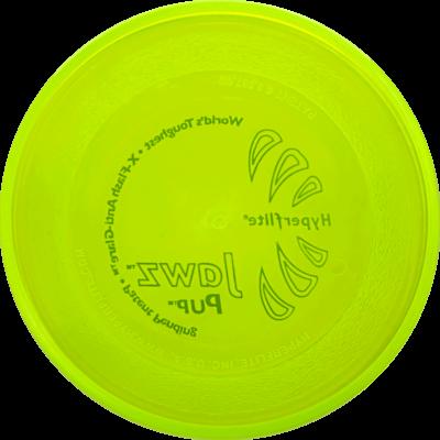 Lemon-Lime Jawz Pup Disc (Bottom View)