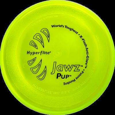 Lemon-Lime Jawz Pup Disc (Top View)