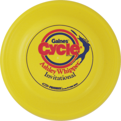 1987 Gaines Cycle Disc (Yellow)