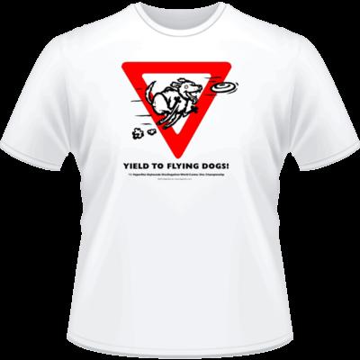 2011 DiscDogathon World Championship Shirt (Front View)