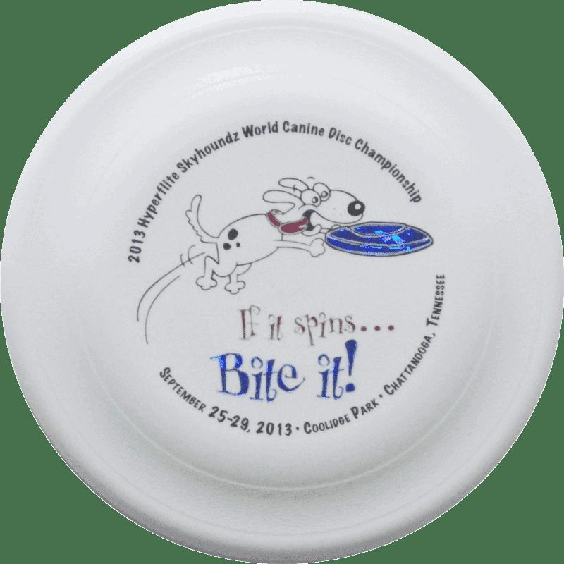 2013 Skyhoundz World Championship Disc (White)