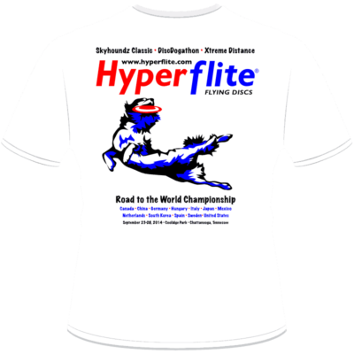2014 World Championship Shirt (Back View)