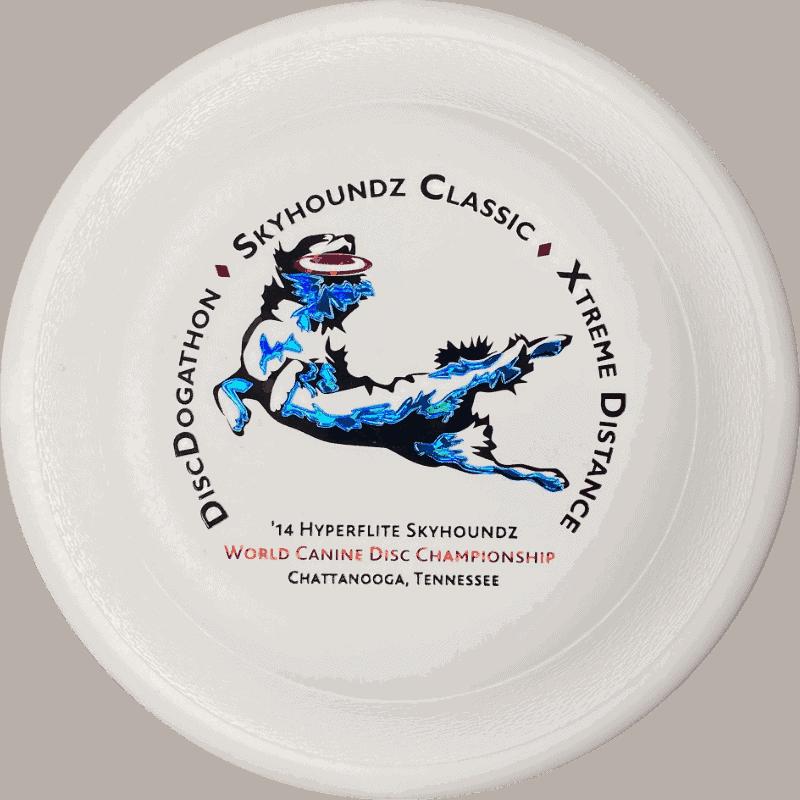 2014 Skyhoundz World Championship Disc (White)