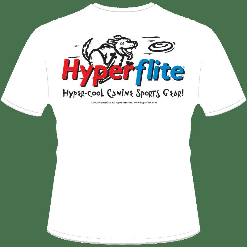 Disc Dogs Rock! Shirt (Back View)