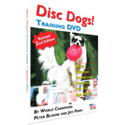Disc Dogs! Training DVD (Cover Photo)