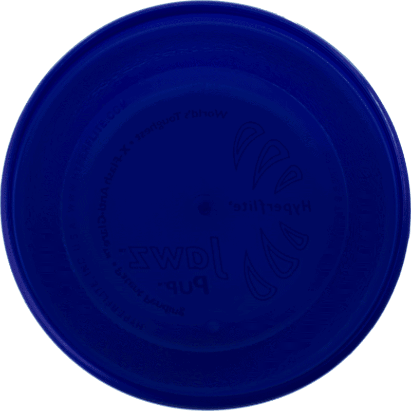 Blueberry Jawz Pup Disc (Bottom View)
