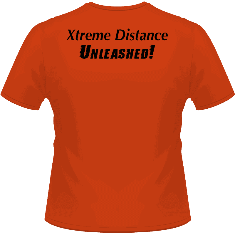 Orange MaxQ Shirt (Back View)