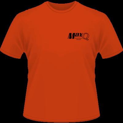 Orange MaxQ Shirt (Front View)