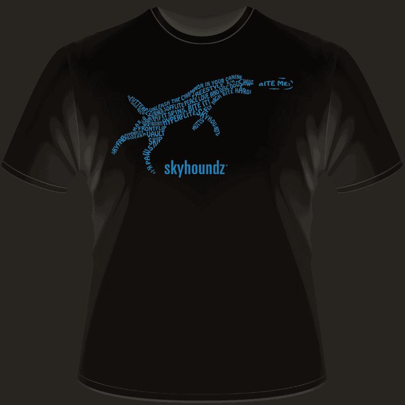 Skyhoundz Text Shirt (Front View)