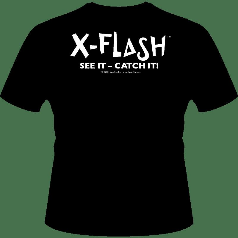 Black Hyperflite X-Flash Shirt (Back View)