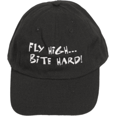 Fly High Bite Hard! Cap