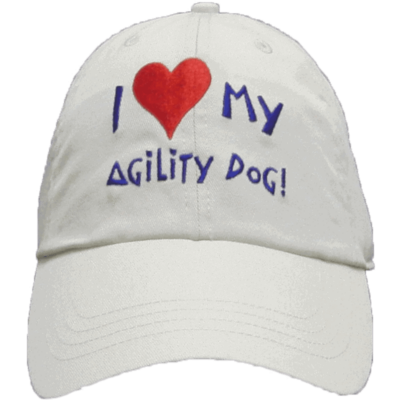 I love my agility dog! Cap