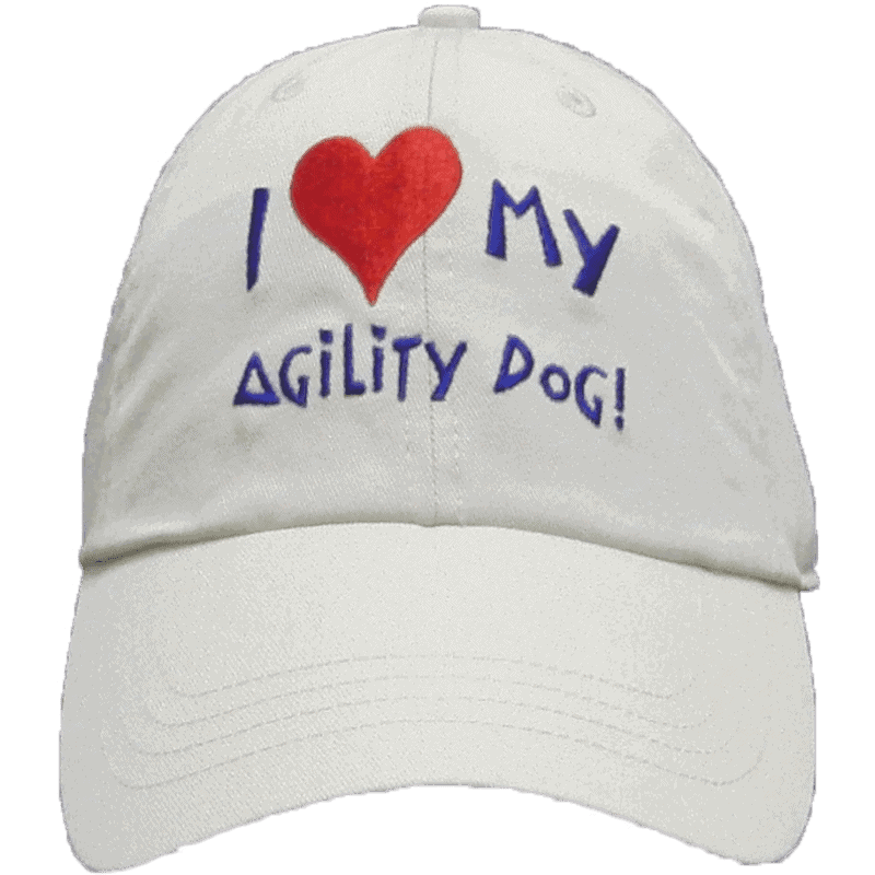 I love my agility dog! Cap
