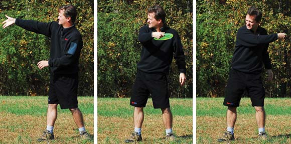 Backhand Throwing Sequence