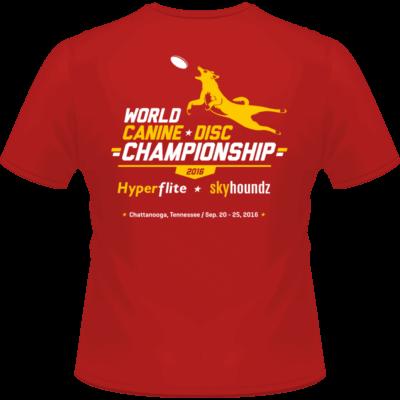 2016 World Championship Shirt (Back View)