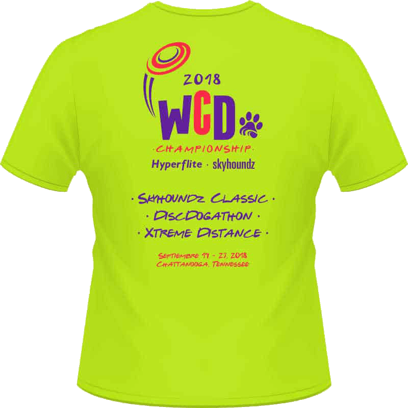 2018 World Championship Shirt (Back View)