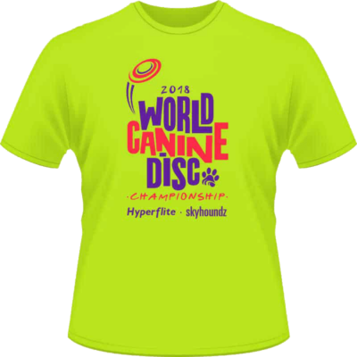 2018 World Championship Shirt (Front View)