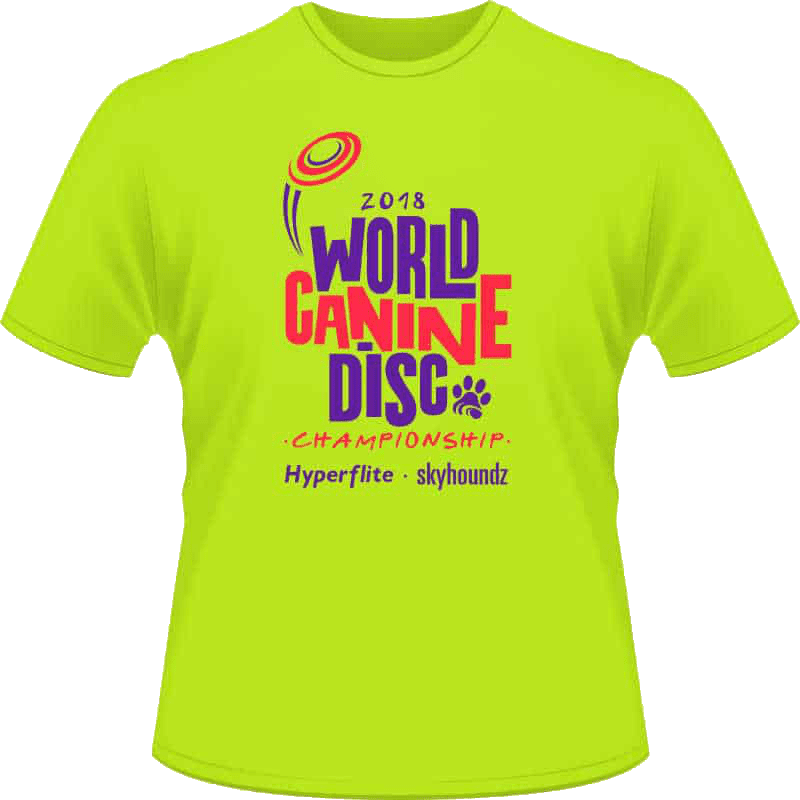 2018 World Championship Shirt (Front View)