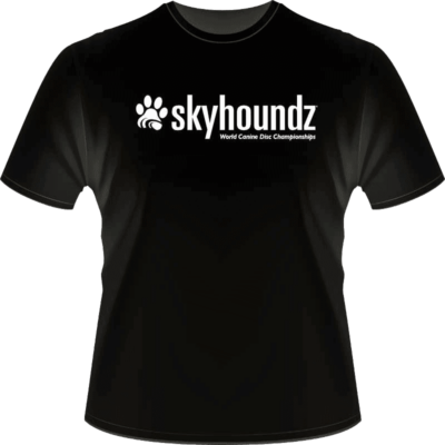 Black Skyhoundz Shirt (Front View_