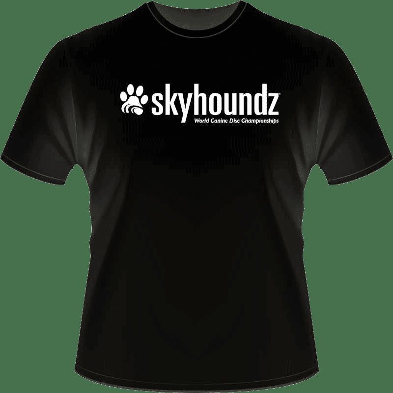 Black Skyhoundz Shirt (Front View_