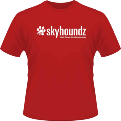 Red Skyhoundz Shirt (Front View)
