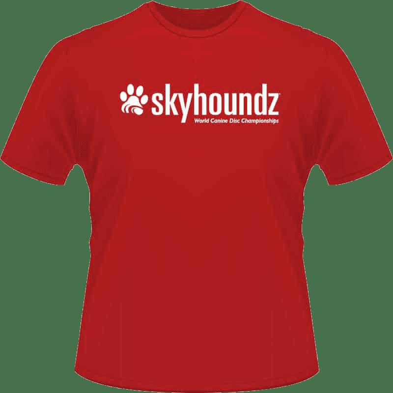 Red Skyhoundz Shirt (Front View)