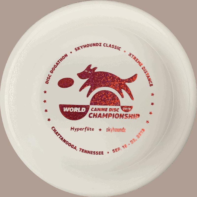 2019 Skyhoundz World Canine Disc Championship Disc