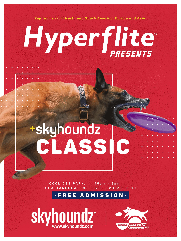 2019 Skyhoundz Classic World Championship Poster
