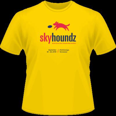 2019 Skyhoundz Last Chance Qualifier Shirt (Front View)