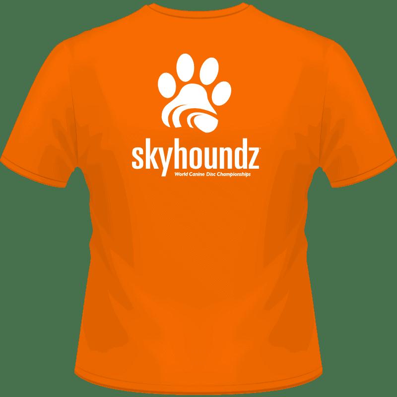 Skyhoundz World Championship Shirt (Back View)