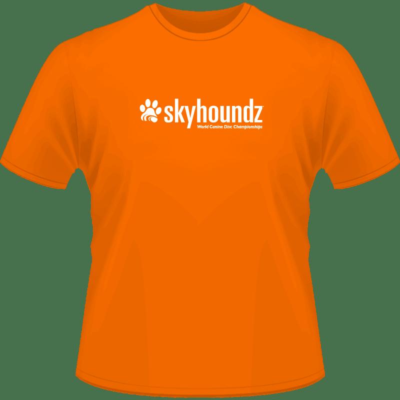 Skyhoundz World Championship Shirt (Front View)