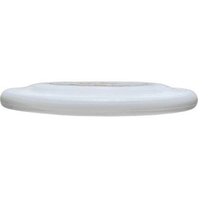 White Competition Standard Pup Disc (Side View)