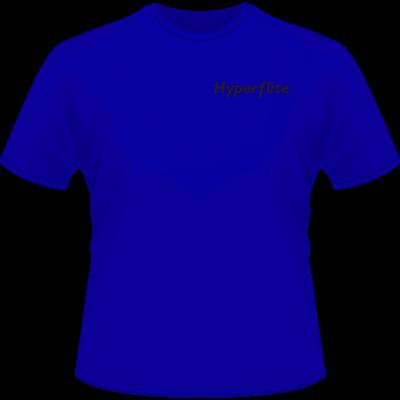 Hyperflite Flying Disc Shirt-Black Logo (Front View)