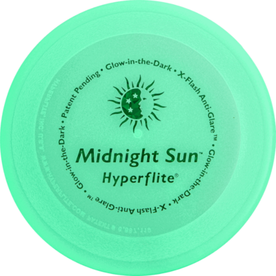 Midnight Sun Disc (Top View Glowing)