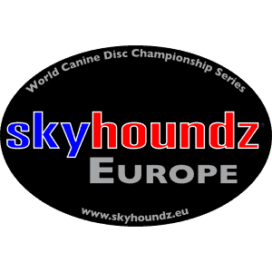 Skyhoundz Europe (Oval Bumper Sticker)