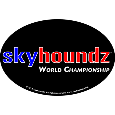Skyhoundz World Championship (Oval Magnet)