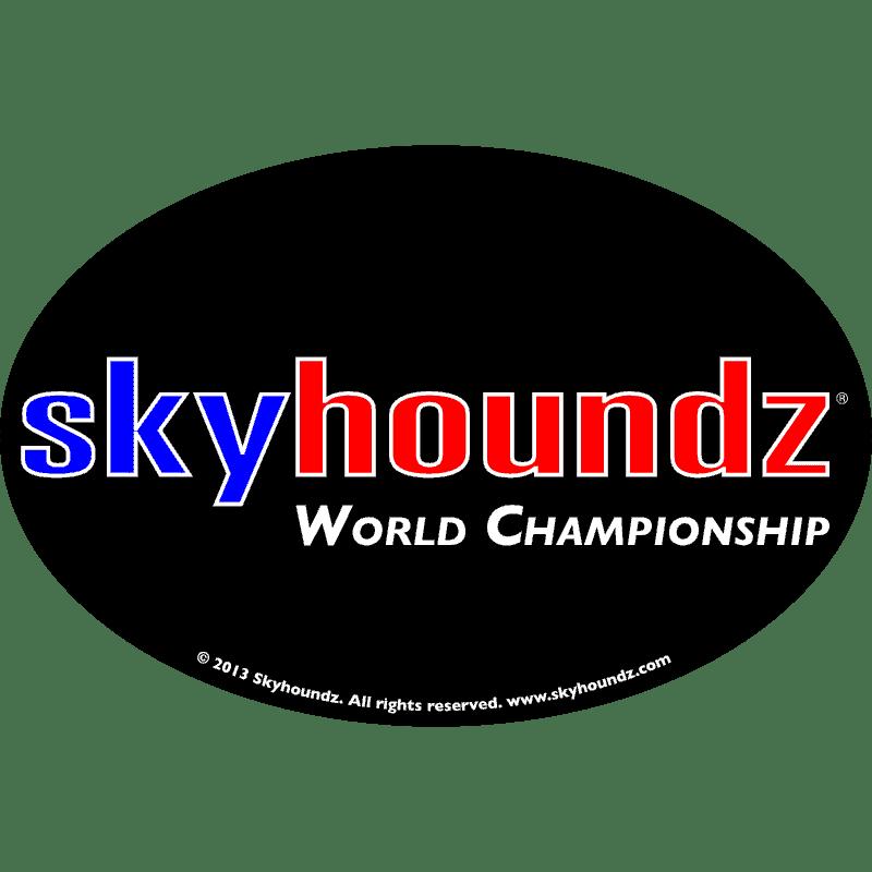 Skyhoundz World Championship (Oval Magnet)
